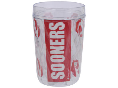 Oklahoma Sooners 16oz Diamond Pattern Double Wall Cup