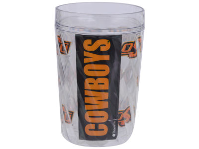 Oklahoma State Cowboys 16oz Diamond Pattern Double Wall Cup