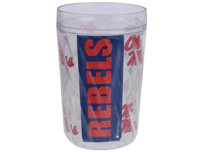 Ole Miss Rebels 16oz Diamond Pattern Double Wall Cup