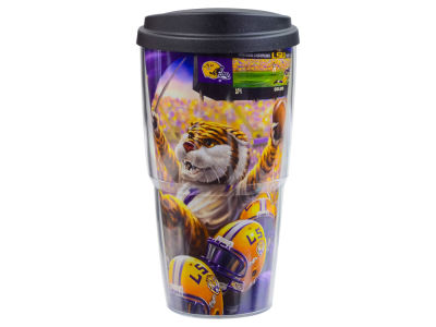 LSU Tigers 24oz Celebration Double Wall W/ Lid