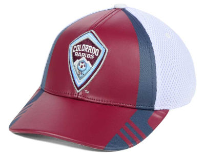 Colorado Rapids adidas MLS Authentic Team Flex Cap