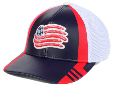 New England Revolution adidas MLS Authentic Team Flex Cap