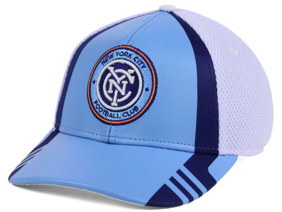 New York City FC adidas MLS Authentic Team Flex Cap