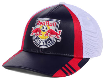 New York Red Bulls adidas MLS Authentic Team Flex Cap