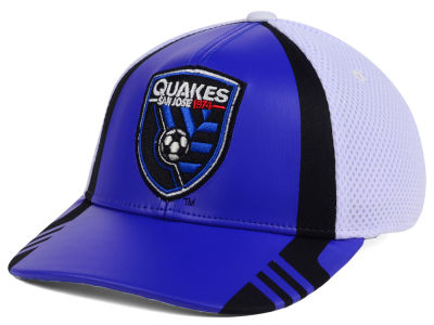 San Jose Earthquakes adidas MLS Authentic Team Flex Cap