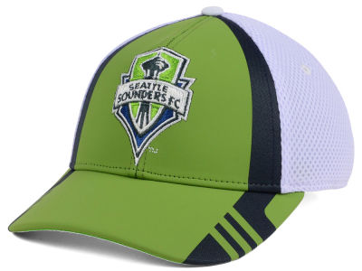 Seattle Sounders FC adidas MLS Authentic Team Flex Cap