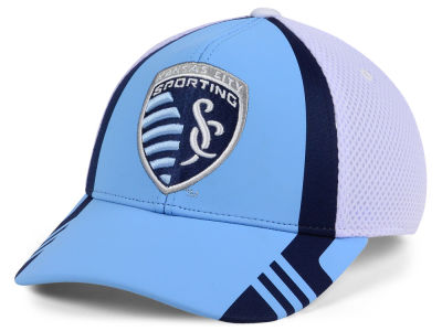 Sporting Kansas City adidas MLS Authentic Team Flex Cap