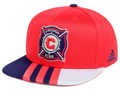 Chicago Fire adidas MLS Authentic Team Snapback Cap