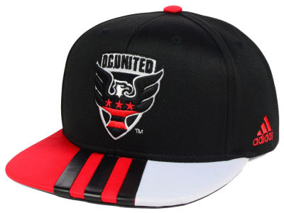 DC United adidas MLS Authentic Team Snapback Cap