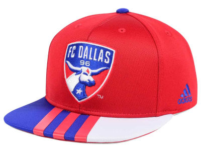 FC Dallas adidas MLS Authentic Team Snapback Cap