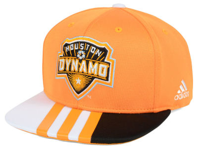 Houston Dynamo adidas MLS Authentic Team Snapback Cap