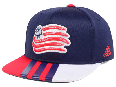 New England Revolution adidas MLS Authentic Team Snapback