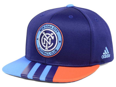 New York City FC adidas MLS Authentic Team Snapback Cap
