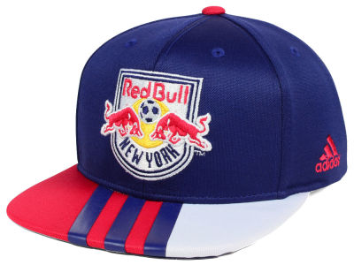 New York Red Bulls adidas MLS Authentic Team Snapback Cap