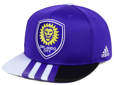 Orlando City SC adidas MLS Authentic Team Snapback