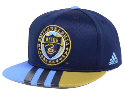 Philadelphia Union adidas MLS Authentic Team Snapback Cap