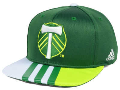 Portland Timbers adidas MLS Authentic Team Snapback Cap