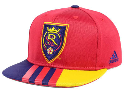 Real Salt Lake adidas MLS Authentic Team Snapback Cap