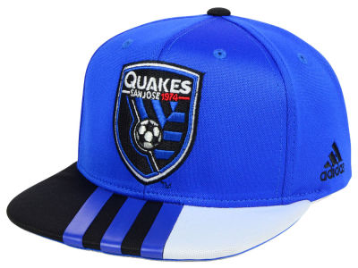 San Jose Earthquakes adidas MLS Authentic Team Snapback Cap