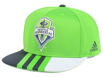 Seattle Sounders FC adidas MLS Authentic Team Snapback Cap