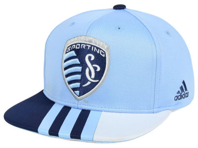 Sporting Kansas City adidas MLS Authentic Team Snapback Cap