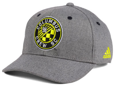 Columbus Crew SC adidas MLS Takeover Structured Adjustable Cap