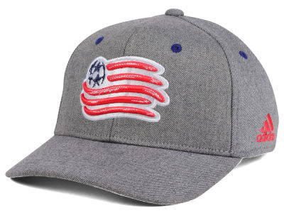New England Revolution adidas MLS Takeover Structured Adjustable Cap
