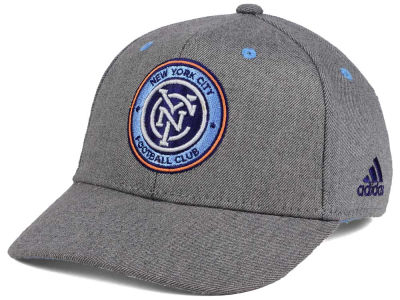 New York City FC adidas MLS Takeover Structured Adjustable Cap