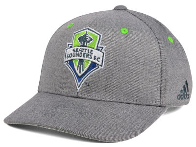 Seattle Sounders FC adidas MLS Takeover Structured Adjustable Cap