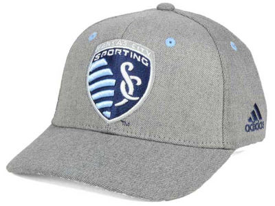 Sporting Kansas City adidas MLS Takeover Structured Adjustable Cap