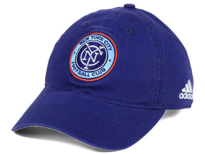 New York City FC adidas MLS Basic Slouch Cap