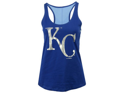 Kansas City Royals 5th & Ocean MLB Women's Foil Tank