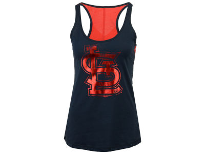 St. Louis Cardinals 5th & Ocean MLB Women's Foil Tank