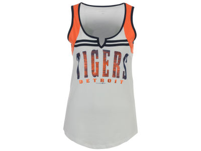 Detroit Tigers 5th & Ocean MLB Women's V Notch Tank