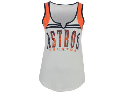Houston Astros 5th & Ocean MLB Women's V Notch Tank