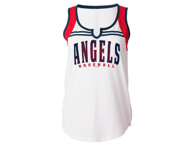 Los Angeles Angels 5th & Ocean MLB Women's V Notch Tank