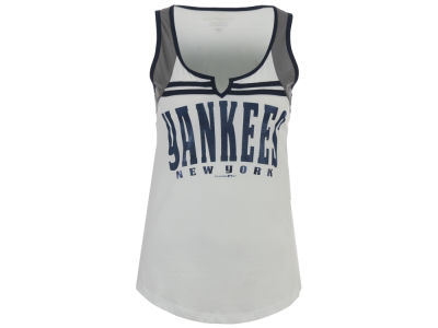 New York Yankees 5th & Ocean MLB Women's V Notch Tank