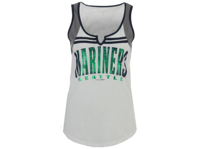 Seattle Mariners 5th & Ocean MLB Women's V Notch Tank