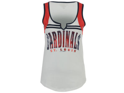 St. Louis Cardinals 5th & Ocean MLB Women's V Notch Tank