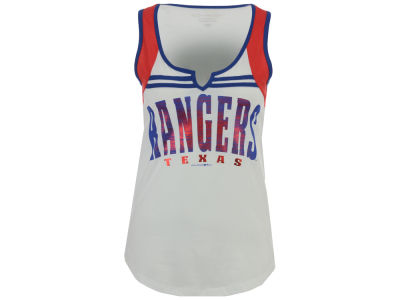 Texas Rangers 5th & Ocean MLB Women's V Notch Tank