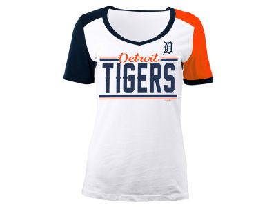 Detroit Tigers 5th & Ocean MLB Women's Cool Base Short Sleeve T-Shirt