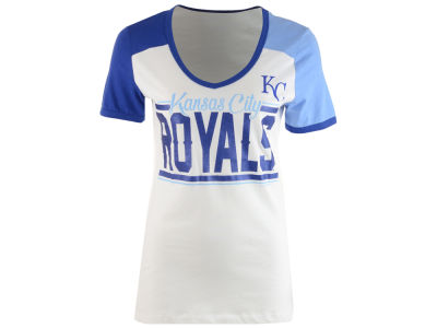 Kansas City Royals 5th & Ocean MLB Women's Cool Base Short Sleeve T-Shirt