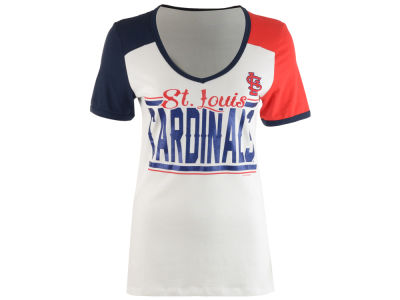 St. Louis Cardinals 5th & Ocean MLB Women's Cool Base Short Sleeve T-Shirt