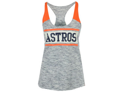 Houston Astros 5th & Ocean MLB Women's Space Dye Tank