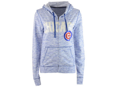 Chicago Cubs 5th & Ocean MLB Women's Space Dye Hooded Sweatshirt