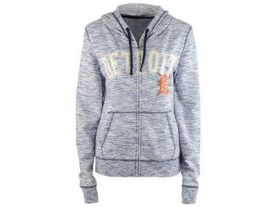 Detroit Tigers MLB Women's Space Dye Hooded Sweatshirt