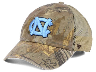 North Carolina Tar Heels '47 NCAA '47 Sawgrass Camo Snapback Cap