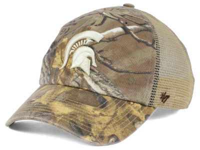 Michigan State Spartans '47 NCAA '47 Sawgrass Camo Snapback Cap