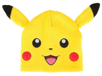 Pokemon Pikachu Beanie Knit with Ears