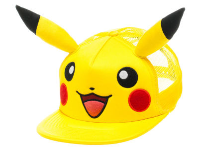 Pokemon Pikachu Big Face with Ears Trucker Hat